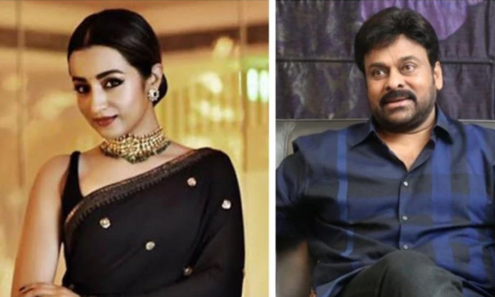 Telugu Chiranjeevi, Chiranjeevi Acharya, Chiranjeevi And Trisha, Mega Fans, Mega Star Chiranjeevi 152 Movie, Trisha-Movie