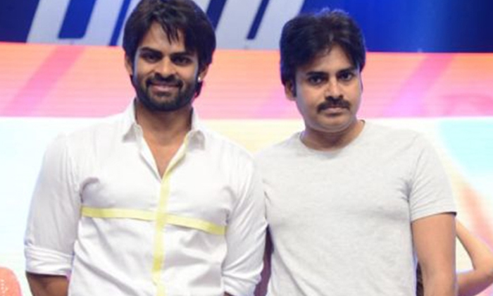 Telugu Aluu Aravindh Camera Switch On, Deva Katta, Pawan Kalyan, Pawan Kalyan And Sai Dharam Tej, Pawan Kalyan Clap, Pawan Kalyan Latest Update, Sai Dharam Tej New Movie Opening-Movie