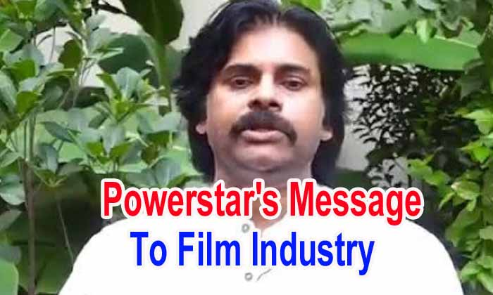 Powerstar's Message To Film Industry