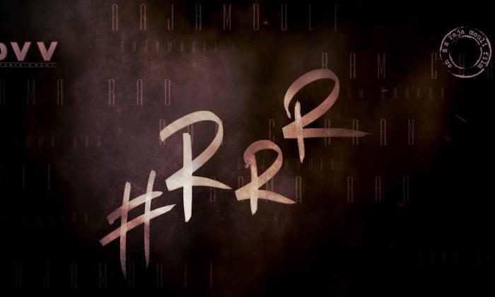 Telugu \\'raghupathi Raghava Rajaram\\', Ram Charan And Jr.ntr, Rrr, Rrr Full-form Confirmed - Check It Out, Ss Rajamouli-Movie-English
