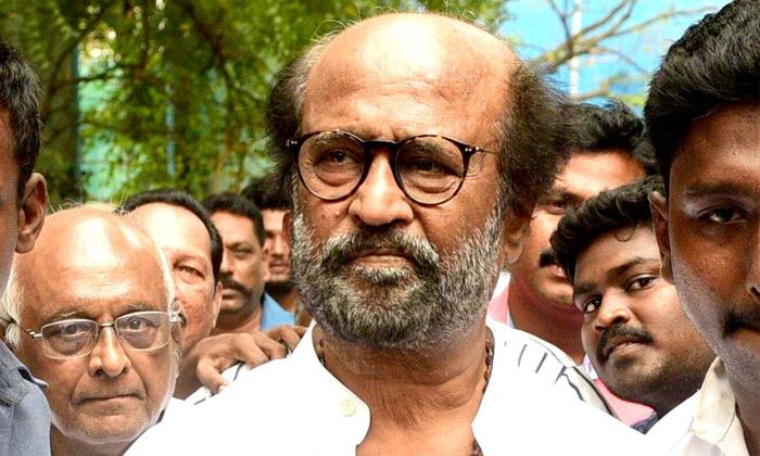 Telugu Rajinikanth, Rajinikanth Latest Update, Rajinikanth On Press Meet, Rajinikanth Political Entry, Tamilanadu Super Star-Movie
