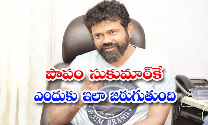 TeluguStop.com - Sukumar And Allu Arjun Movie Post Pone