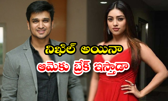 TeluguStop.com - Anu Emmanuel Got A Chance In Nikhil Upcoming Projects