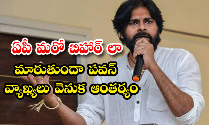Pawan Kalyan Comments On Ycp Behave Like Political Rowdies