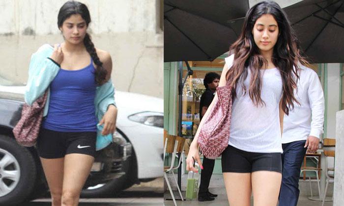 Telugu Bollywood Actress Jhanvi Kapoor, Jhanvi Kapoor Dress Comments, Jhanvi Kapoor Latest News, Jhanvi Kapoor Movie News, Jhanvi Kapoor Reacts About Her Short Dress, Jhanvi Kapoor Reacts About Her Short Dress Comments-Movie