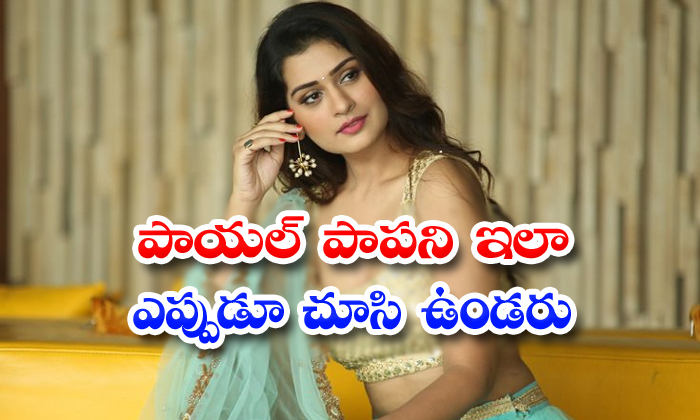 Payal Rajput Without Makeup Video Goes Viral