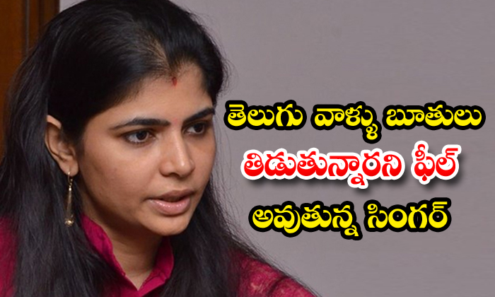 Singer Chinmayi Says Telugu Audience Use Abusing Words