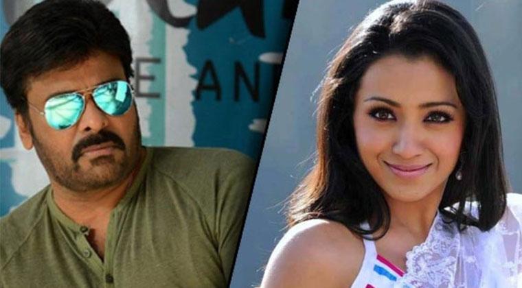 మెగాస్టార్ సినిమాకి మొహం చాటేసిన త్రిష-Movie-Telugu Tollywood Photo Image