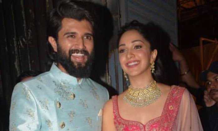Vijay Devarakonda Want To Romance Kiara Advani - Telugu Ananya Pandey Fighter Puri Jagannadh