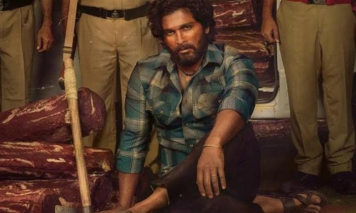 Allu Arjun Stuns In The First Look Of Pushpa'-Movie-English-Telugu Tollywood Photo Image
