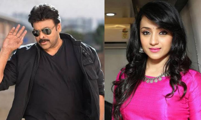 Chiru Reveals The Reason Behind Trisha's Exit-Movie-English-Telugu Tollywood Photo Image