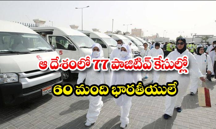 Kuwait Corona Indians 60 Members