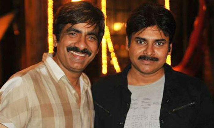 Pawan Kalyan And Ravi Teja In A Multistarrer-Movie-English-Telugu Tollywood Photo Image