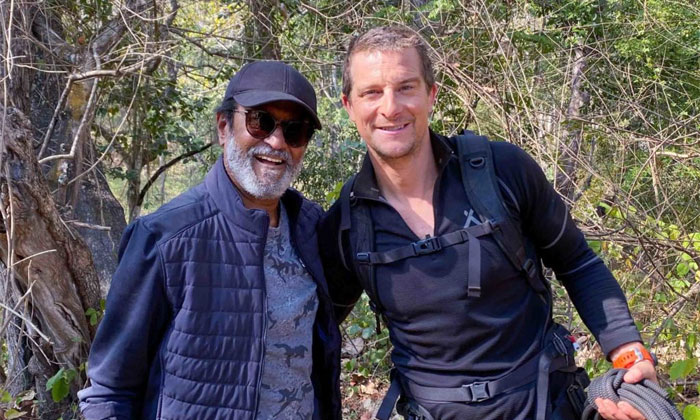 Rajinikanths Into The Wild With Bear Grylls Episode Creates History