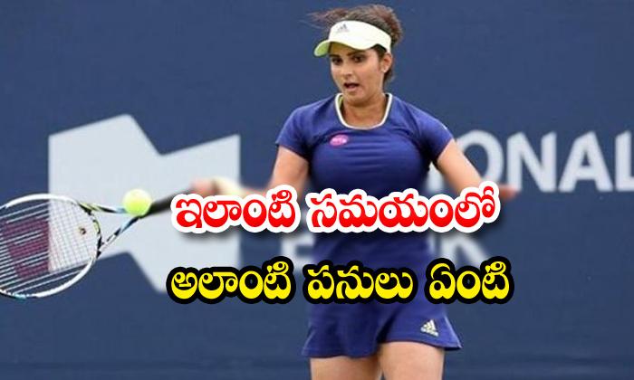 Sania Mirza Star Tennis Player Indian Tennis Player Celebrity Coocking Videos Social Media Sania Mirza Tweet