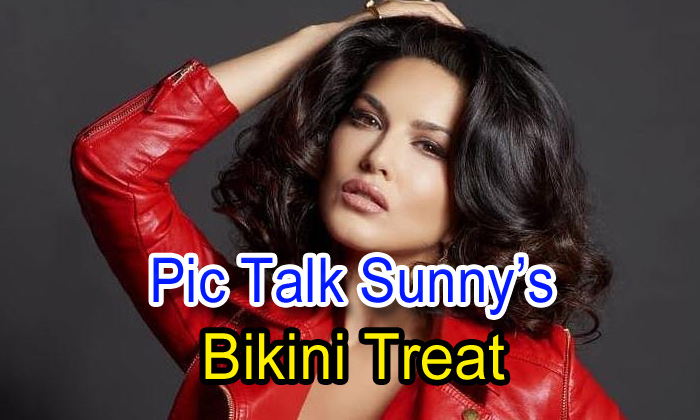 Pic Talk: Sunny's Bikini Treat