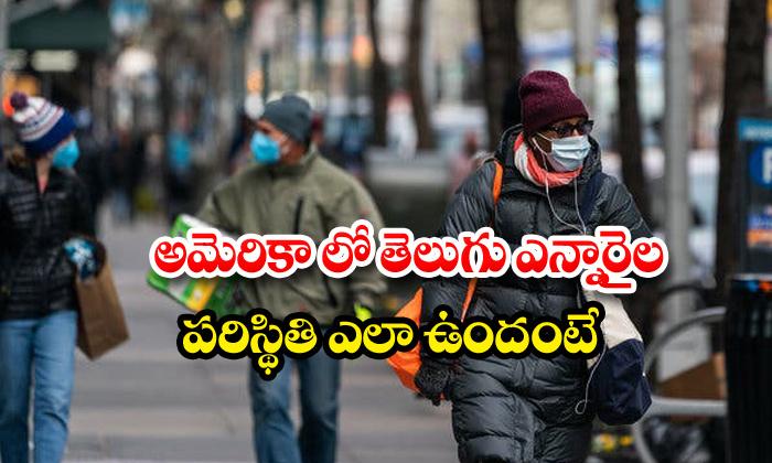 America Telugu Nri Corona Effect