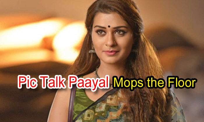 Pic Talk: Paayal Mops The Floor