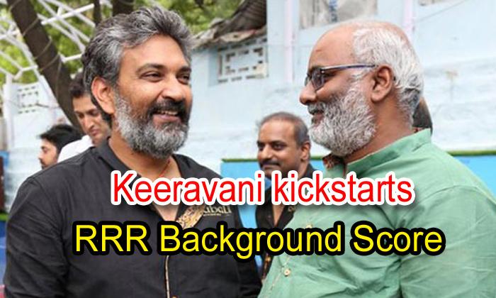 Keeravani Kickstarts 'rrr' Background Score