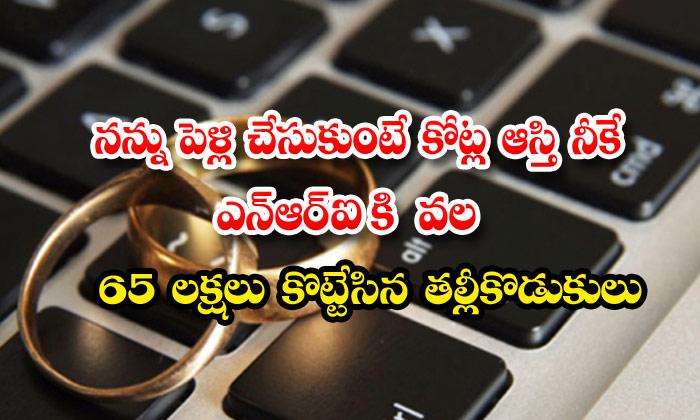 Cheating Nri Matrimony Fake Account
