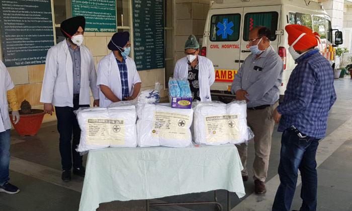 కరోనాపై పోరు: ఎన్ఆర్ఐ దాతృత్వం, ఆసుపత్రికి వెంటిలేటర్లు విరాళం-Telugu NRI-Telugu Tollywood Photo Image