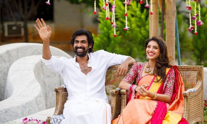 ఇట్స్ అఫీషియల్… ఎంగేజ్మెంట్ ఫోటోలు షేర్ చేసిన రానా-Movie-Telugu Tollywood Photo Image