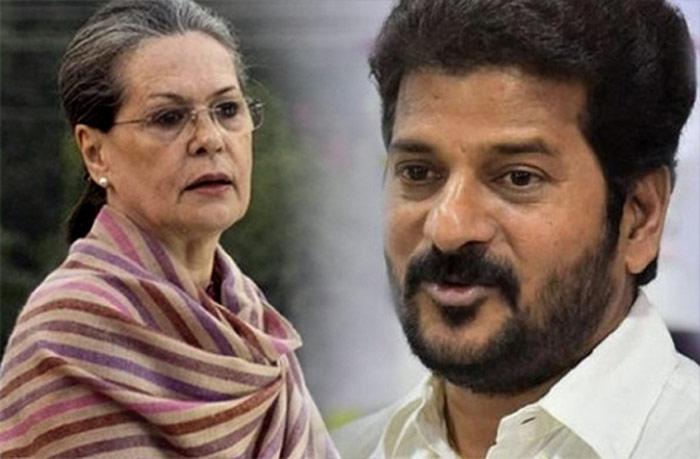 Telugu Chandrababu, Congress Leaders Complains Against Revanth, Congress Pcc Chief, Revanth Reddy, Sonia Gandhi, Telangana Senior Congress Leaders-Telugu Political News