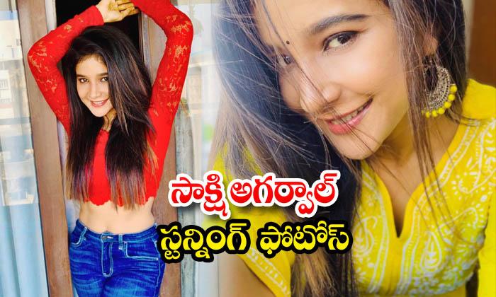 Tamil Sensation Sakshi Agarwal Looks