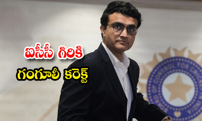 Sourav Ganguly Is The Right Man To Become Icc Chairman