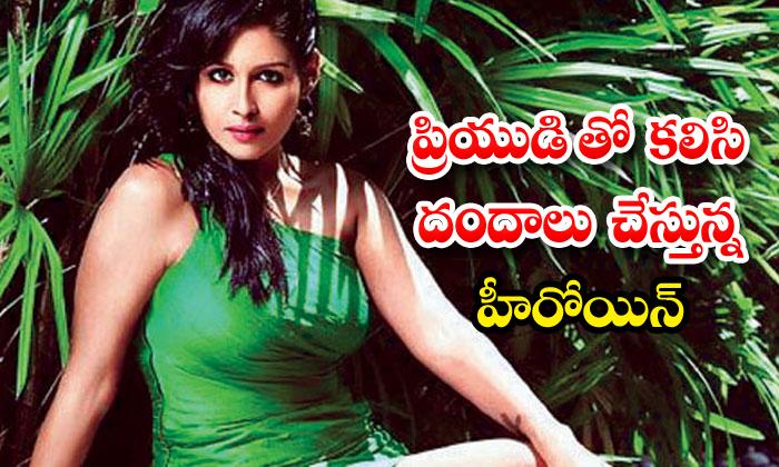 TeluguStop.com - Look Out Notice Against Actress Leena Maria Paul
