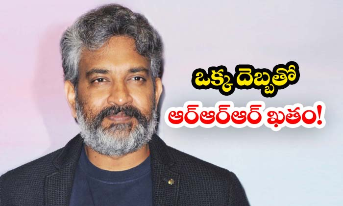 Rajamouli To Complete Rrr In One Schedule