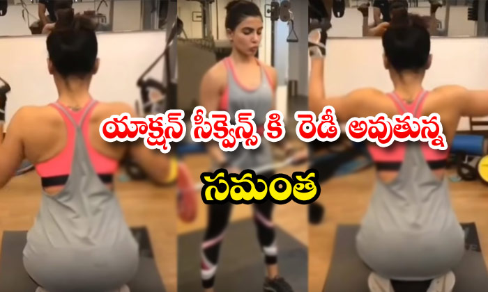 Samantha Action Sequences Workout