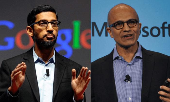 Telugu America, Blackman, George Floyd, Protesters, Satya Nadella And Sundar Pichai Joins Tech Bosses In Slamming Floyd Death, Trump-