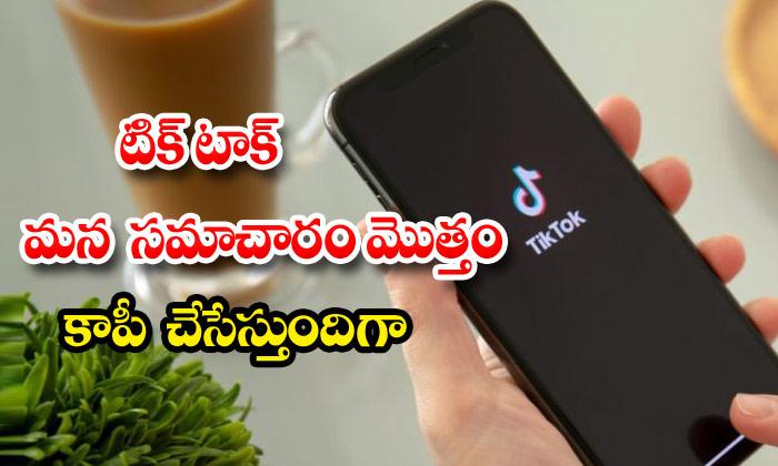Tik Tok App Personal Data Copy Iphone