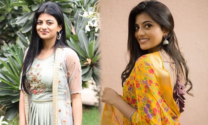 Actress Anandhi Cute Candid Clicks-telugu Actress Hot Photos Actress Anandhi Cute Candid Clicks - Telugu Clips Images L High Resolution Photo