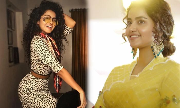 Actress Anupama Parameswaran Stunning Images-telugu Actress Hot Photos Actress Anupama Parameswaran Stunning Images - Te High Resolution Photo