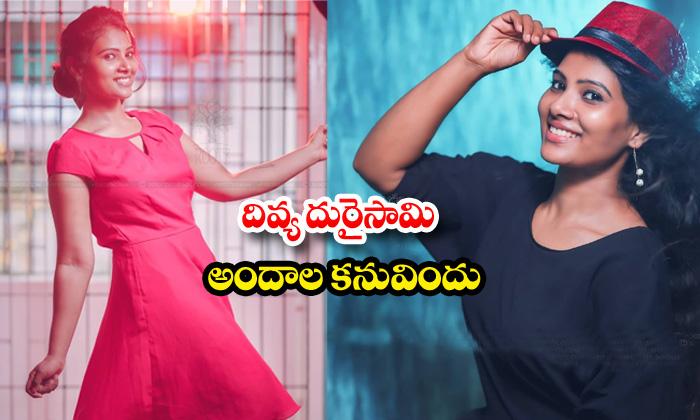 Actress dhivya dhuraisamy awesome poses-దివ్యదురైసామిఅందాల కనువిందు
