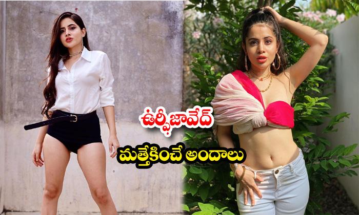Actresss urfi javed hot and sexy poses-ఉర్ఫీజావేద్మత్తెక్కించేఅందాలు