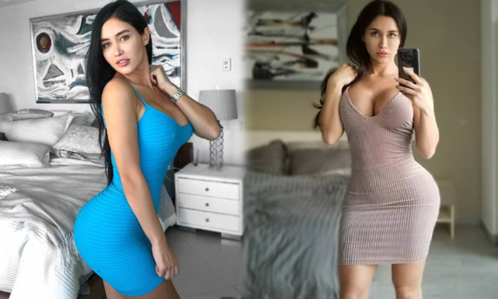 American Model Joselyn Cano Sexy Stills-telugu Actress Hot Photos High Resolution Photo