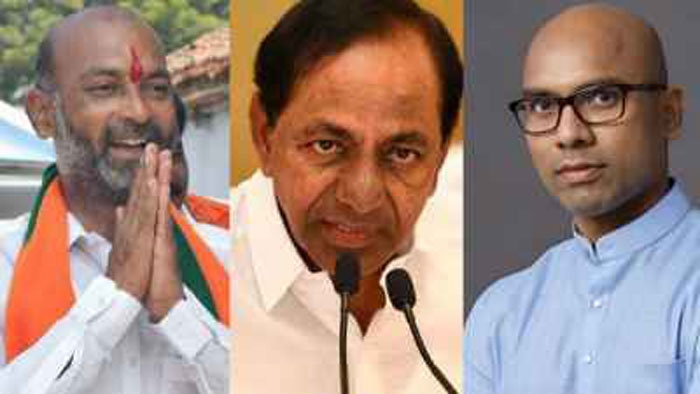 Telugu Bandi Sanjay, Bjp, Congress, Congress Party In Telangana, Telangana Cm Kcr, Trs Party-Telugu Political News