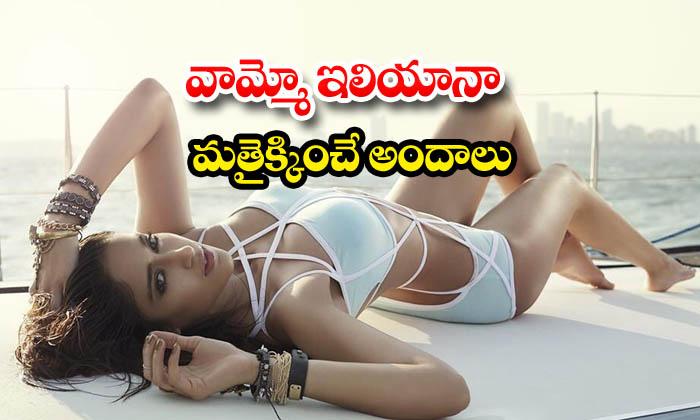 Beach vacation hot and romantic images of actress Ileana- వామ్మో ఇలియానా మత్తెక్కించే అందాలు