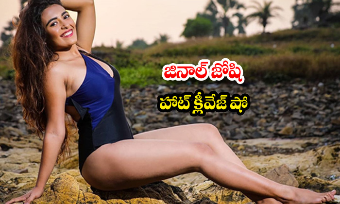 Bollywood actress Jinal Joshi sexy poses-జినాల్ జోషి హాట్ క్లీవేజ్ షో