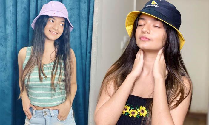 Bollywood Beauty Anushka Sen Glamorous Images-telugu Actress Hot Photos Bollywood Beauty Anushka Sen Glamorous Images - High Resolution Photo