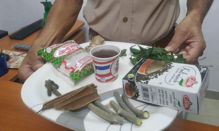 Telugu Corona Tea, Hanamkonda, Heavy Response To Special Tea, Tea To Treat Corona-Telugu Health