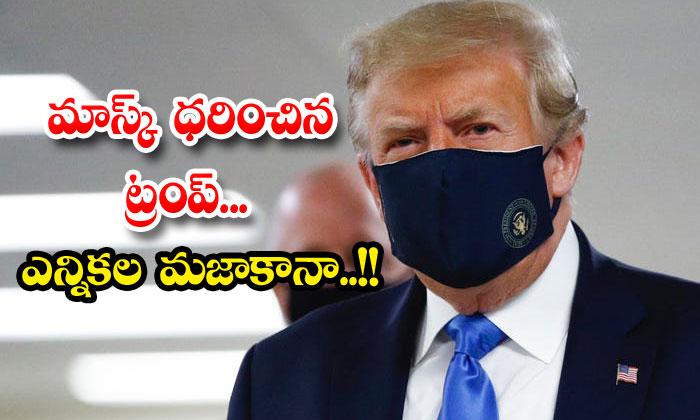 Donald Trump Mask Elections America