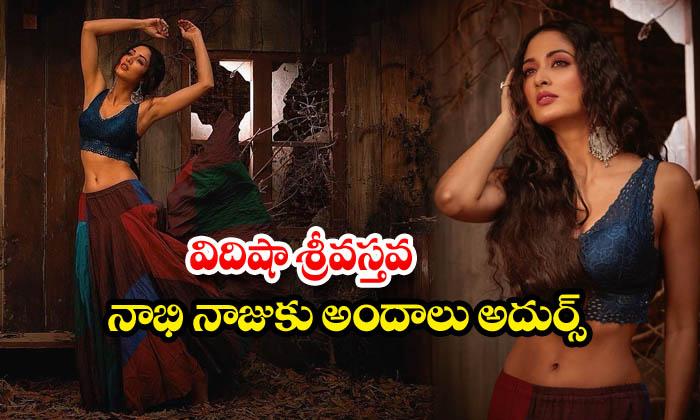Glamorous actress vidisha srivastava Awesome Poses-విదిషా శ్రీవస్తవ నాభి నాజూకు అందాలు అదుర్స్