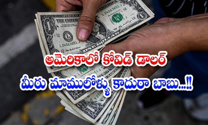 America Covid Dollar Ven Fornier