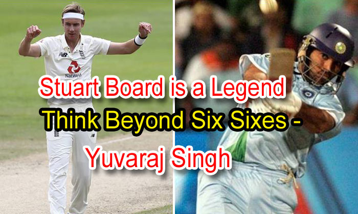 Stuart Broad Is A Legend; Think Beyond Six Sixes: Yuvraj Singh