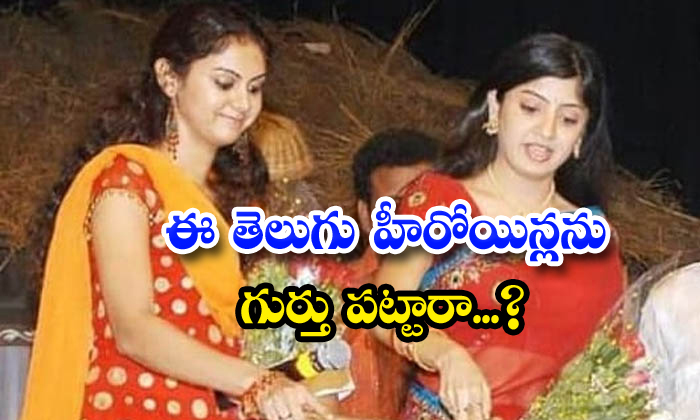 Did You Recognize These Telugu Heroines