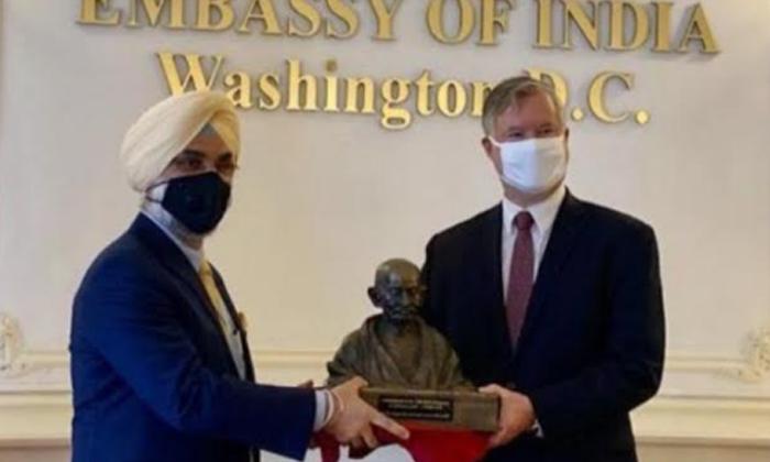 Telugu George Floyed, Indian Embesey, Mahatma Gandhi, May 27th Balck Peoples, Us Washington, Vandalism By Protesters-